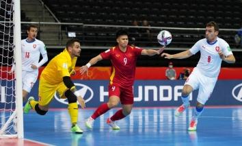 Đối thủ tiếp theo của Futsal Việt Nam tại vòng knock-out 16 đội World Cup: Mạnh hơn CH Séc rất nhiều
