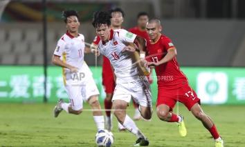 Kết quả Việt Nam vs Trung Quốc: Tấn Tài, Tiến Linh tỏa sáng, 'cầm vàng còn để vàng rơi'