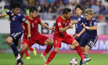 Đội hình ĐT Nhật Bản đắt giá gấp 30 lần ĐT Việt Nam