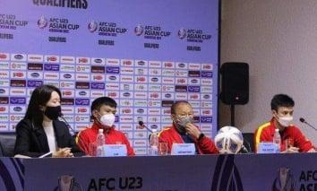 Thầy Park nói gì U23 Việt Nam sau trận thắng nhọc nhằn trước U23 Đài Loan