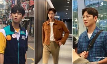Chụp lén các mỹ nam xứ Hàn: Park Seo Joon, Nam Joo Hyuk đẹp 'phát điên', đôi chân Song Kang là 'xỉu' liền