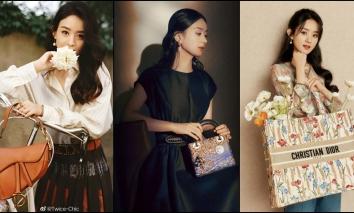 Triệu Lệ Dĩnh đích thị 'nàng thơ' Dior, riêng khoản lên đồ hiếm mỹ nhân Cbiz nào qua được