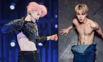 Jimin (BTS) khiến PT muốn bỏ việc, fan girl 'choảng nhau' không tiếc váy vì body quá 'mlem'
