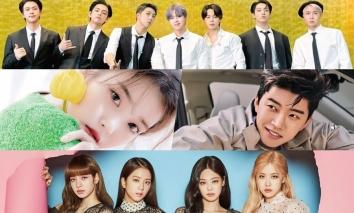 BXH 30 ngôi sao Kpop HOT nhất tháng 9: BLACKPINK - BTS 'cọ nhau' mẻ trán, Lisa lập cú hattrick