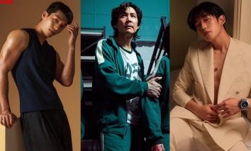 BXH danh tiếng thương hiệu diễn viên điện ảnh tháng 10: Loạt nam thần Squid Game 'đá bay' Song Joong Ki, Hyun Bin