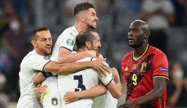 Kết quả Bỉ vs Italia: Lukaku hóa gã hề, Quỷ Đỏ tan mộng vô địch Euro cùng thế hệ vàng