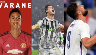 Tin chuyển nhượng mới nhất 16/7: M.U chốt 1,3 nghìn tỷ cho Varane, đã rõ tương lai của Ronaldo
