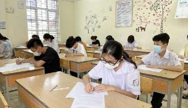 Đáp án đề thi vào lớp 10 môn Toán tỉnh Hòa Bình năm 2021