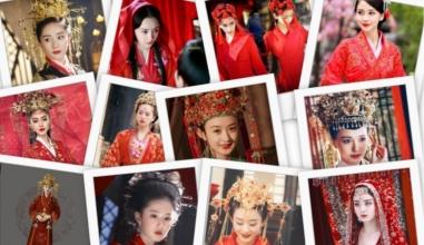 Dương Mịch, Lệ Dĩnh, Diệc Phi, Đường Yên... xúng xính trong trang phục tân nương cổ trang