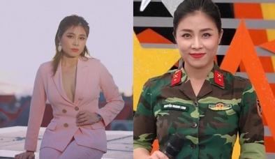 MC, BTV Hoàng Linh VTV diện vest không nội y khoe vẻ đẹp quyến rũ