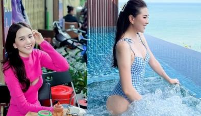 Xả vai 'cô gái thời tiết', MC Mai Ngọc khiến CĐM đỏ mặt vì chiếc váy khoét đúng vùng nhạy cảm