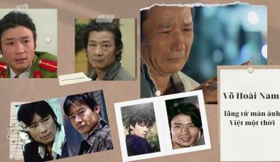 Lãng tử màn ảnh Việt Võ Hoài Nam mang cuốn phim cuộc đời xước xát của mình lên màn ảnh nhỏ