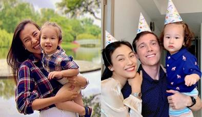 MC Hoàng Oanh hạnh phúc trong ngày sinh nhật quý tử giữa lúc bị tình cũ Huỳnh Anh kéo vào ồn ào