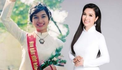 Cao chỉ 1m57, mỹ nhân này vẫn trở thành Hoa hậu Việt Nam nức tiếng lịch sử