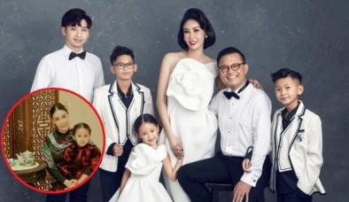 Hậu ồn ào 'con Vua cháu Chúa', Hà Kiều Anh công khai loạt hình ảnh 'cực phẩm' của gia đình