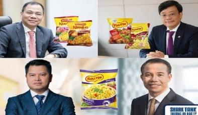 Những tỷ phú Việt khởi nghiệp từ mì gói: Chủ tịch VIB, VPBank, Masan, Vingroup đều 'điểm danh'