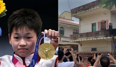 VĐV 14 tuổi đoạt HCV Olympic để chữa bệnh cho mẹ: Người lạ lũ lượt kéo đến nhà livestream, vặt trộm cả cây mít