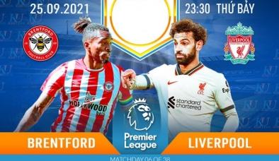 Nhận định Brentford vs Liverpool (23h30, 25/09), vòng 6 Premier League: Khuất phục hiện tượng
