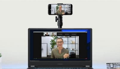 Hướng dẫn biến điện thoại thành webcam cho máy tính, khỏi lo hội họp trực tuyến