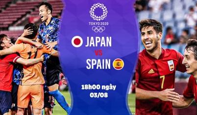 Nhận định Tây Ban Nha vs Nhật Bản, 18h00 ngày 03/08: Chủ nhà sẽ gây bất ngờ?