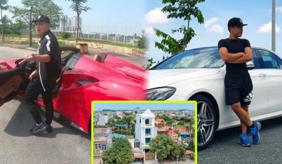 Youtuber số 1 Việt Nam một năm kiếm gần 40 tỷ: Xây dinh thự to vật vã giữa Thái Bình, một mình sở hữu toàn siêu xe