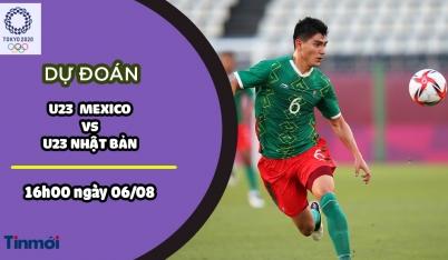 Dự đoán Mexico vs Nhật Bản, nhận định trận đấu, 16h00 ngày 06/08: Bóng đá nam Olympic