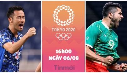 Nhận định Mexico vs Nhật Bản, 16h00 ngày 06/08: Đòi lại món nợ, quyết lấy huy chương