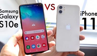 Đọ sức iPhone 11 và Galaxy S10e - Flagship nào ngon hơn?