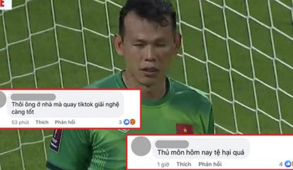 Bị netizen quá khích tấn công sau trận Việt Nam - Trung Quốc, thủ môn Tấn Trường chính thức lên tiếng