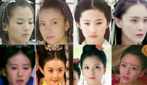 Đụng hàng tóc cổ trang: Lưu Diệc Phi 'chặt đẹp' Trương Hinh Dư, Triệu Lệ Dĩnh lép vế Lưu Thi Thi