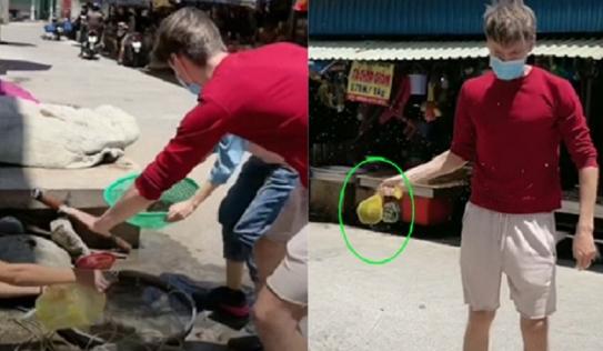 Bí quyết đi chợ mua tôm của chàng Tây khiến chị bán hàng 'vừa ngượng vừa buồn cười'