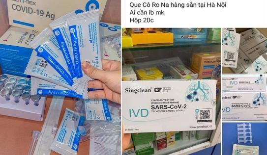 Bộ Y tế cảnh báo cẩn trọng về bộ kit test nhanh COVID-19 rao bán tràn lan trên mạng