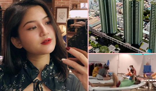 F0 xinh đẹp chia sẻ trải nghiệm ở khu điều trị Covid-19 Thuận Kiều Plaza