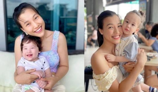 Quý tử đầu lòng của MC Hoàng Oanh lộ visual lai tây 'cực phẩm' khi mới lên 1 tuổi