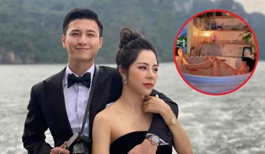 Huỳnh Anh tự tay khui khoảnh khắc riêng tư bên bạn gái 'hot mom' Bạch Lan Phương