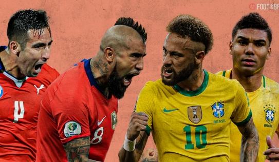 Nhận định Brazil vs Chile 07h00 ngày 03/07, tứ kết Copa America 2021
