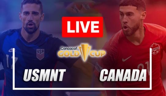 Trực tiếp Mỹ vs Canada, cập nhật link xem trực tiếp Mỹ vs Canada, 04h00 ngày 19/07