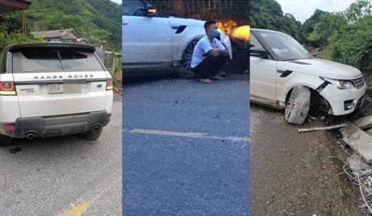 'Giang hồ mạng' Huấn Hoa Hồng lái Range Rover gặp sự cố, nguồn gốc của chiếc xe khiến dân mạng tranh cãi