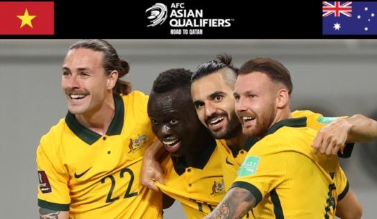 Trực tiếp Việt Nam vs Australia, link xem trực tiếp Việt Nam vs Australia: 18h00 ngày 07/09