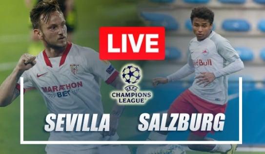 Trực tiếp Sevilla vs Salzburg, link xem trực tiếp Sevilla vs Salzburg: 23h45 ngày 14/09