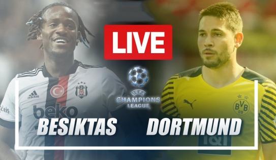 Trực tiếp Besiktas vs Dortmund, link xem trực tiếp Besiktas vs Dortmund: 23h45 ngày 15/09