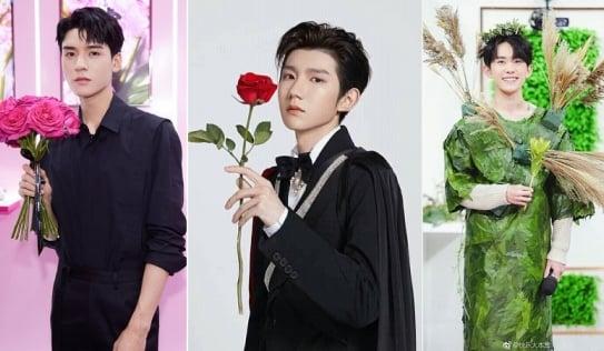 12 trai đẹp Cbiz cầm hoa tỏ tình, chàng trai nào khiến bạn gật đầu nguyện ý?