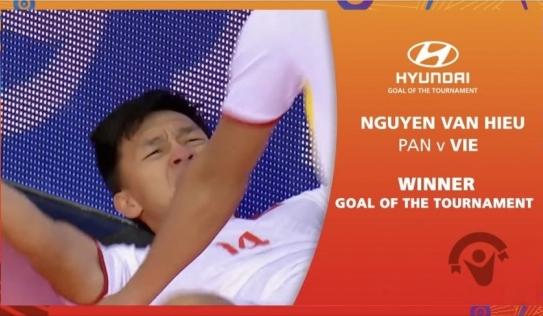 Bàn thắng solo hoàn hảo của Việt Nam được bình chọn đẹp nhất World Cup Futsal 2021