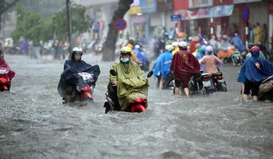 Kết thúc nắng nóng, Hà Nội và các tỉnh Bắc Bộ đón mưa lớn trong 3 ngày