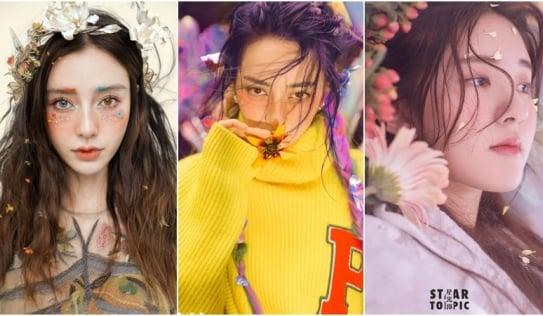 Mỹ nhân Cbiz điểm hoa lên mặt: Nhiệt Ba, Angela Baby xinh 'nhức nhối', Dương Mịch, Lộ Tư hóa 'nàng thơ'
