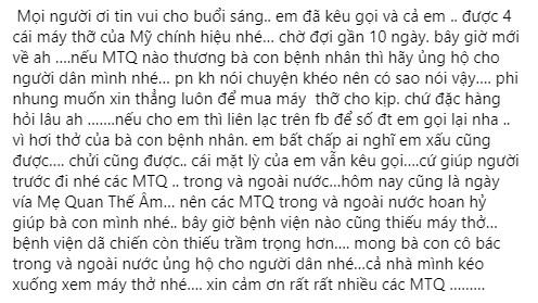 Phi Nhung tự nhận mình 'mặt lì', bất chấp liêm sỉ đi kêu gọi từ thiện 1