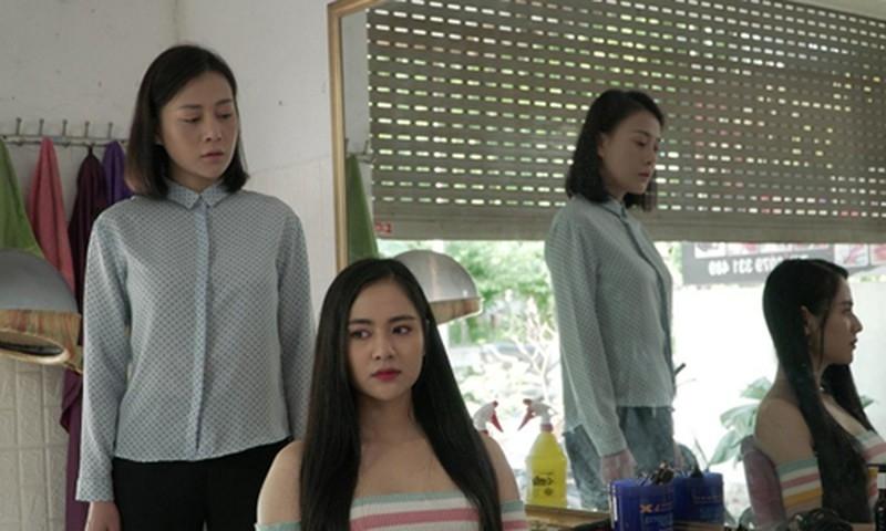 Vợ Mạnh Trường trong 'Hương vị tình thân 2': Nhan sắc đỉnh cao khó bị Phương Oanh làm lu mờ 4