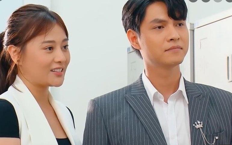 'Bạn trai' Phương Oanh trong 'Hương vị tình thân 2' đã có vợ xinh như hot girl 1