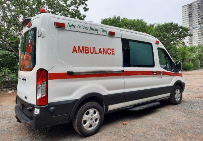 Bên trong chiếc xe cứu thương Việt Hương tặng ông Đoàn Ngọc Hải, chi tiết đặc biệt gây chú ý 3