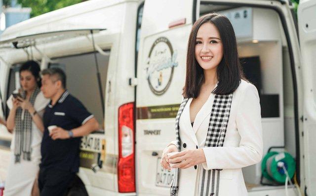 Hoa hậu Mai Phương Thúy khoe đường cong 'khét lẹt' với váy ôm sát 4